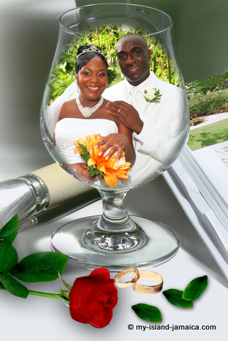 marriage in jamaica- wellesley and omeil 2011