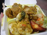 jamaican curried chicken with dumplins