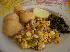 foods eaten in jamaica - Jamaican Breakfast