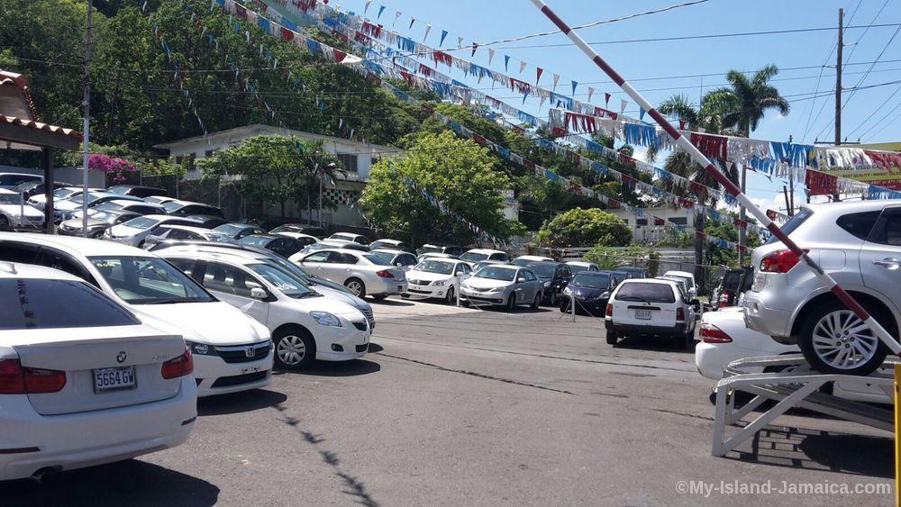 top car dealers in Jamaica
