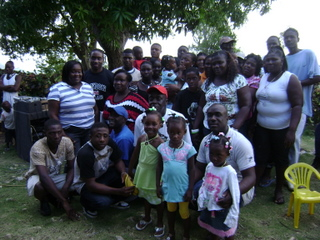 christmas family reunion in jamaica