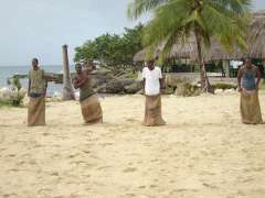 point_village_resort_sack_race