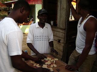Jamaican community - Domino Playing