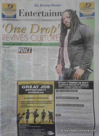 jamaican newspapers- gleaner