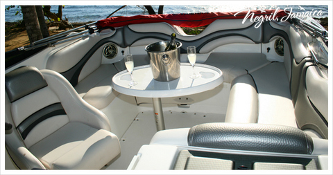 Jamaica Water Sports Luxury Boat