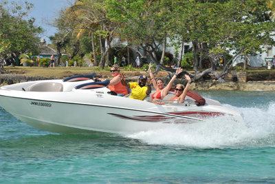 Jamaica Water Sports - Having Fun