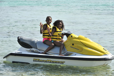 Jam Water Sports on Boat