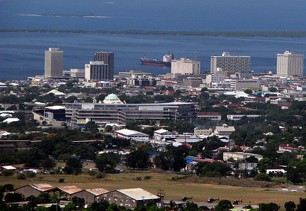 Jamaican Cities- The Port of Kingston