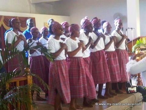 Jamaican Dress - Bandana