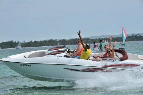 Jamaica Water Sports - Enjoying