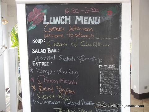 lunch at FDR resort