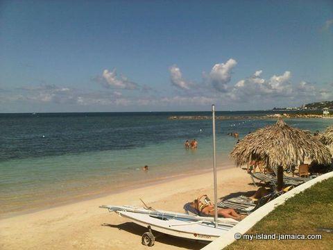 jamaican-beach-with-beach-chairs