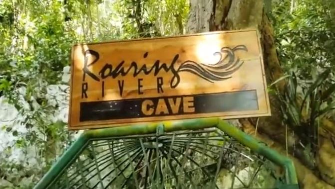 tourism in jamaica - roaring river cave