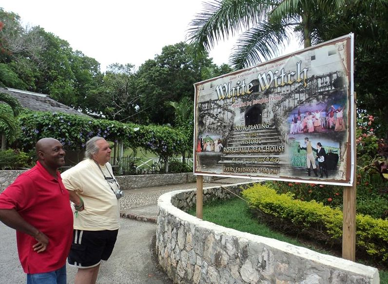 rocky_tours_client_at_white_witch_jamaica_island_tours