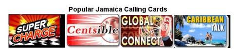 jamaica calling card