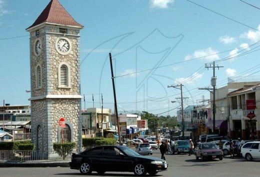 Clock Tower In MayPen, Clarendon