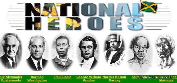 Jamaican national heroes