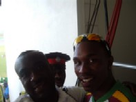 Dwayne Bravo and I