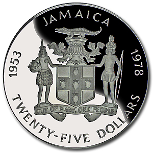 Old Jamaican Coin
