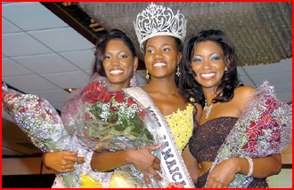 Jamaica-Miss Jamaica Pageant 2007