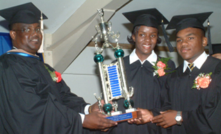 Colleges in Jamaica - NCU College Graduation