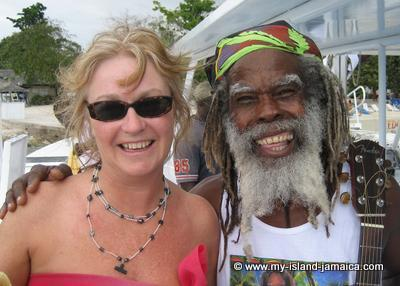 Georgia & Rasta Ralphie From Jamaica