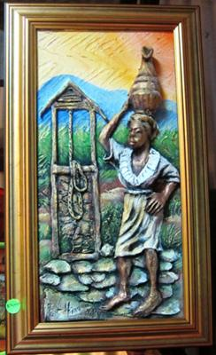 Authentic Jamaican Painitng