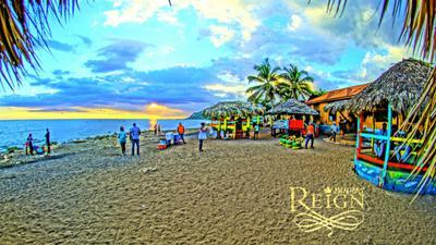 Amazing Jamaican Sunset