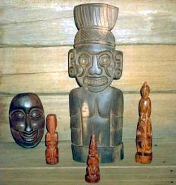 Early History of Jamaica - arawak carvings