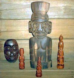 arawak carvings