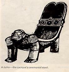 Early History of Jamaica - Arawak Chair
