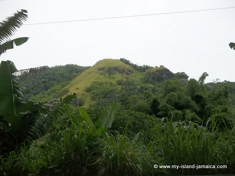 attractions in st mary jamaica - hill views