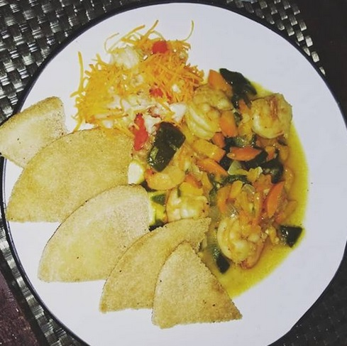 bambooze_on_the_rocks_garlic_butter_shrimp