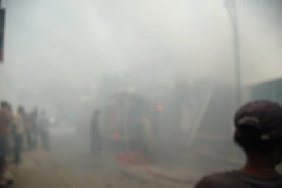 Smoke everywhere