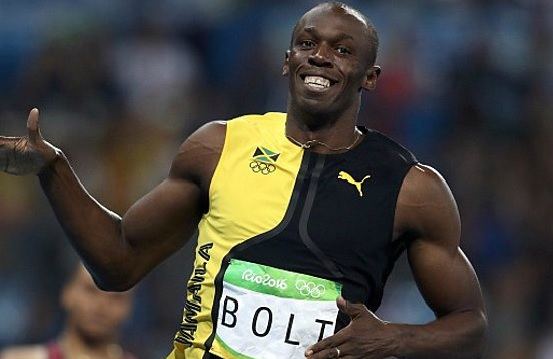 usain bolt wins 100m title in Rio Olympics 2016
