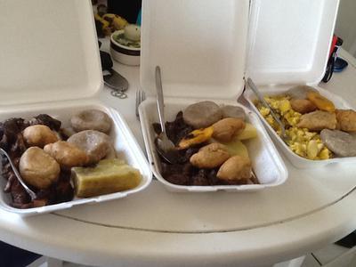Breakfast Jamaican style