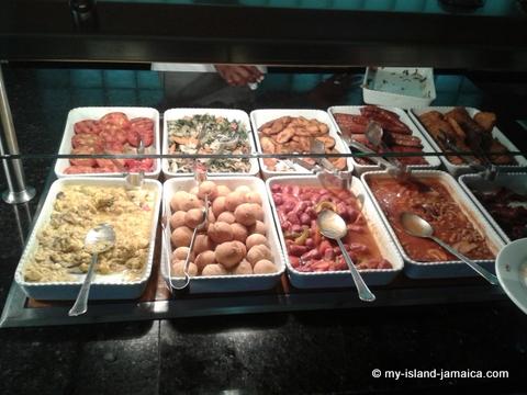 Breakfast at Hotel Riu Palace