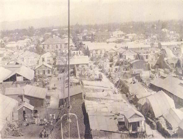 Kingston in 1907, Capital of Jamaica