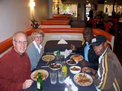 Dinner at Campbell's Caribbean Cuisine in Chicago