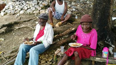Christmas in Jamaica - sharing the love