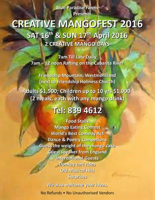 Creative MangoFest Leaflet