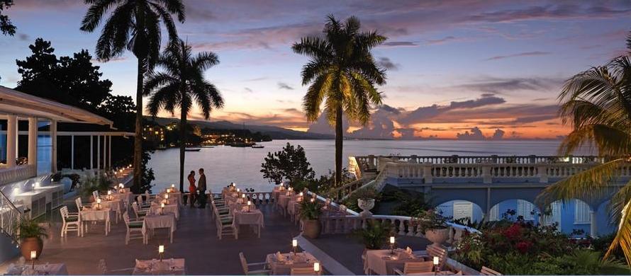 Dining at Jamaica Inn Resort