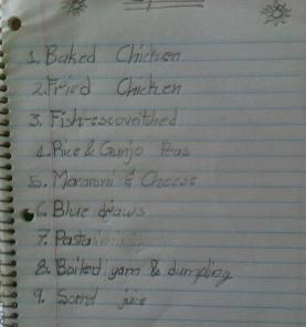 Christmas dinner_menu_by_my_daughter_Jamaica_2011