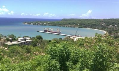 View leaving Montego Bay Jamaica