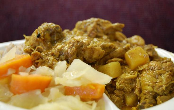 Easy jamaican curry chicken recipe home style jamaican jamaican curry chicken forumfinder Gallery
