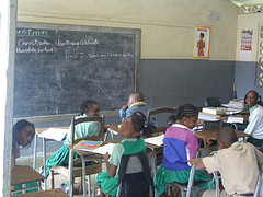education in jamaica blackboard classroom