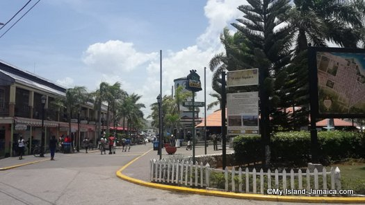 falmouth jamaica port - water square