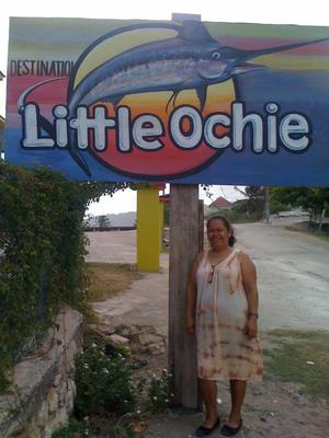 My Jamaica Trip - Pictured At Little Ochi Seafood Restaurant