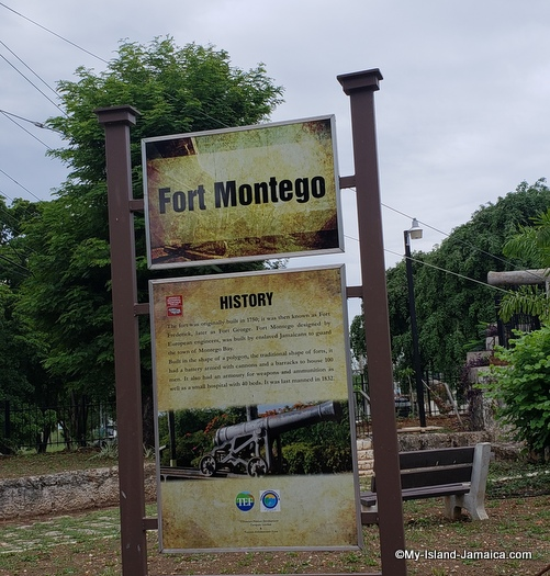 history of fort montego