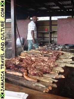 Jerk meat